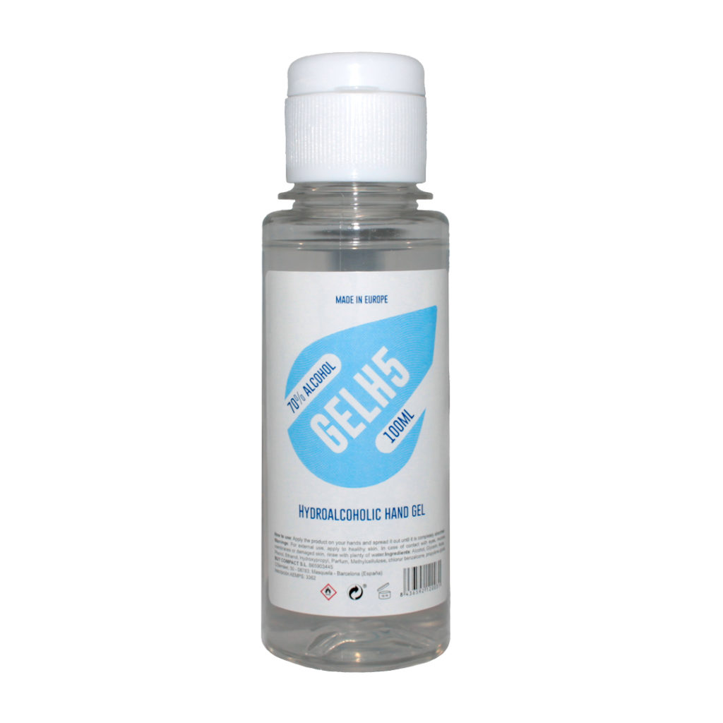 Gel hidroalcohólico 100ml