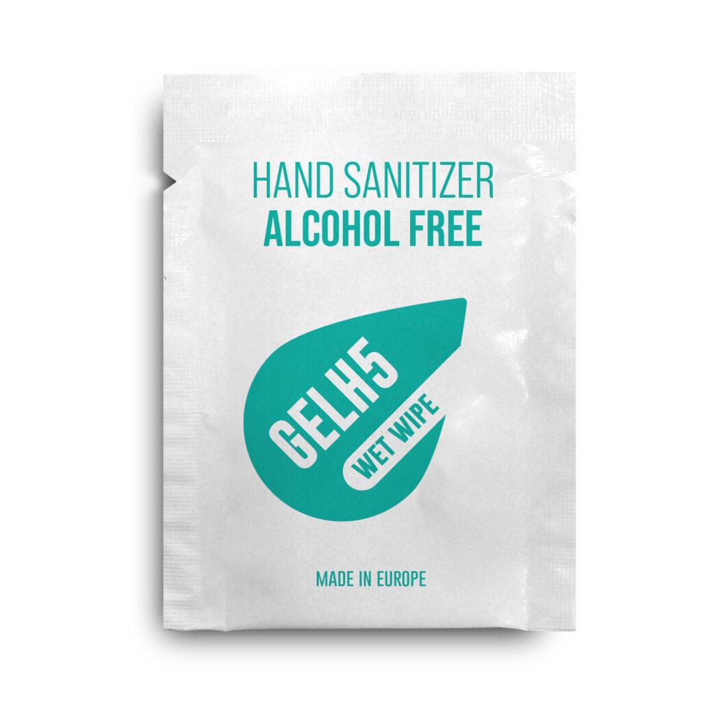 Toallita desinfectante sin alcohol